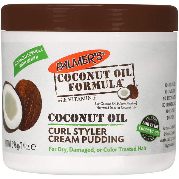 Palmer's Coconut Oil Curl Styler Cream Pudding - blackhairboutique.co.uk