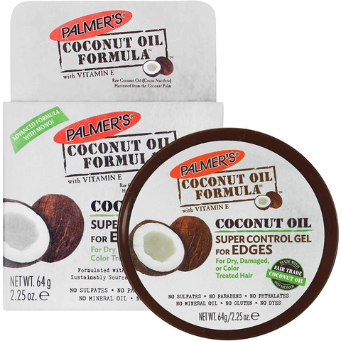 Palmer's Coconut Oil Super Control Gel for Edges - blackhairboutique.co.uk