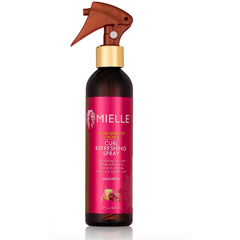 Mielle Organics Pomegranate & Honey Curl Refreshing Spray - blackhairboutique.co.uk