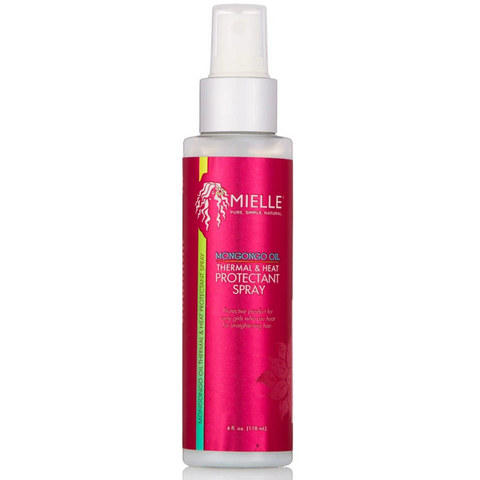 Mielle Mongongo Oil Thermal & Heat Protectant Spray - blackhairboutique.co.uk