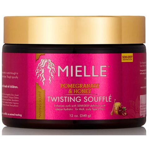 Mielle Pomegranate & Honey Twisting Soufflé - blackhairboutique.co.uk