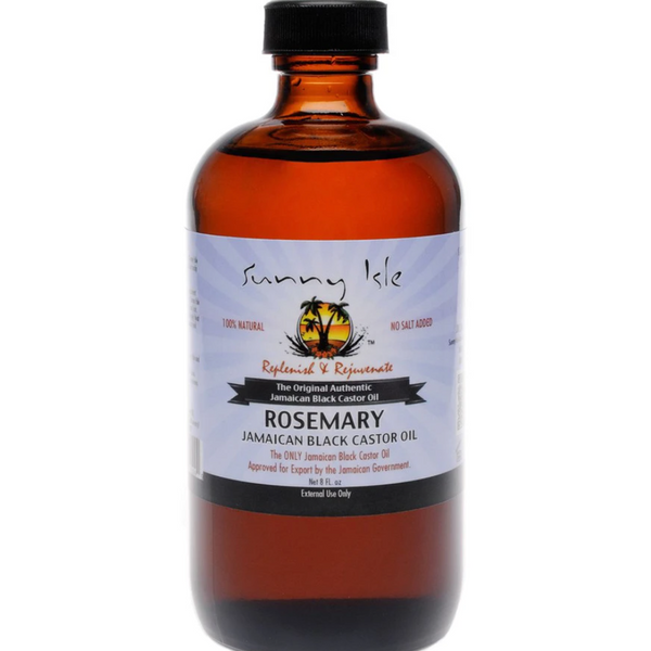 Sunny Isle Rosemary Jamaican Black Castor Oil - blackhairboutique.co.uk