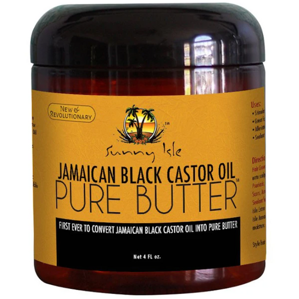 Sunny Isle Jamaican Black Castor Oil Pure Butter - blackhairboutique.co.uk