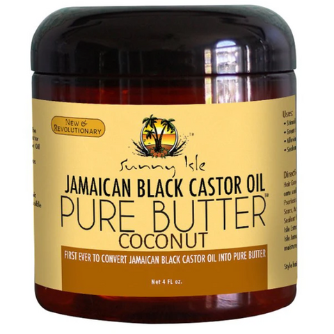 Sunny Isle Jamaican Black Castor Oil PURE BUTTER with Coconut Oil