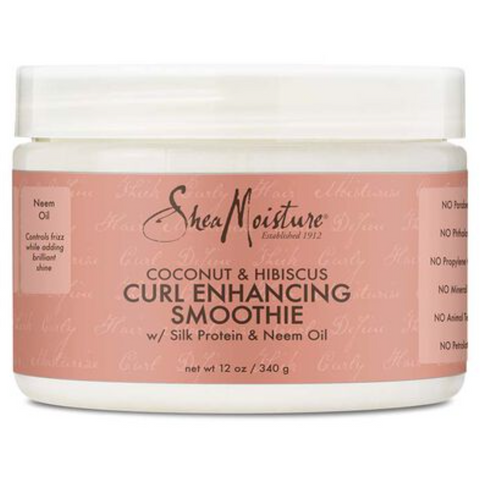Shea Moisture Coconut & Hibiscus Curl Enhancing Smoothie - blackhairboutique.co.uk