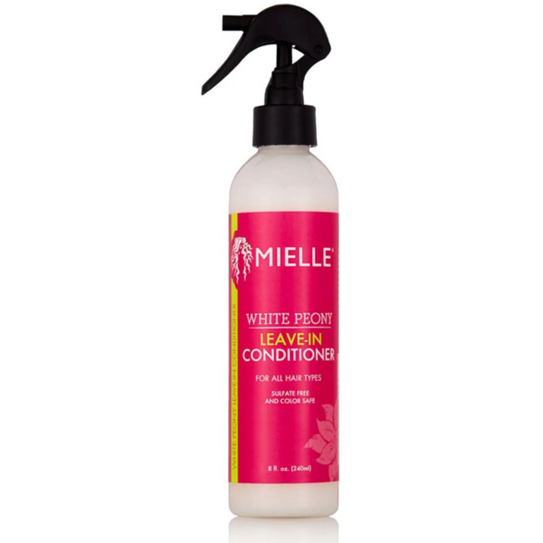 Mielle White Peony Leave-In Conditioner - blackhairboutique.co.uk
