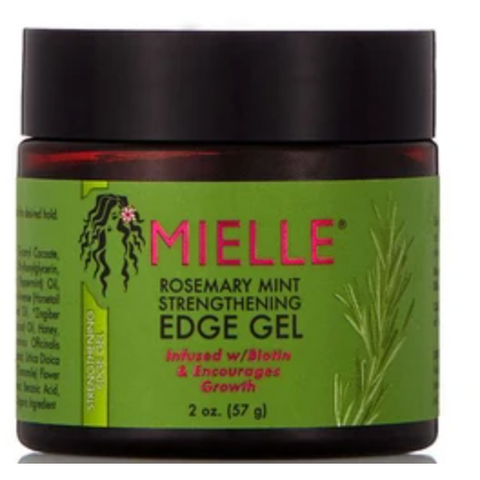 Mielle Rosemary Mint Strengthening Edge Gel - blackhairboutique.co.uk
