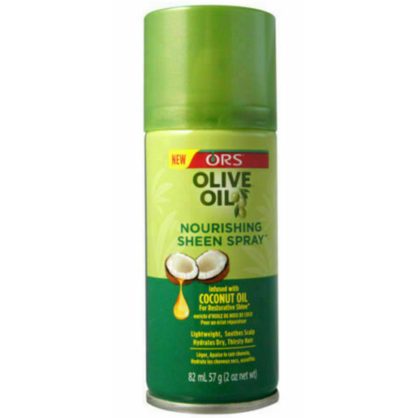 ORS Olive Oil Nourishing Sheen Spray - blackhairboutique.co.uk