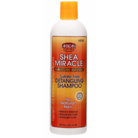 African Pride Shea Miracle Detangling Shampoo - blackhairboutique.co.uk