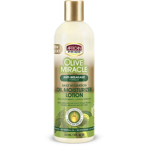 African Pride Olive Miracle Oil Moisturizing Lotion - blackhairboutique.co.uk