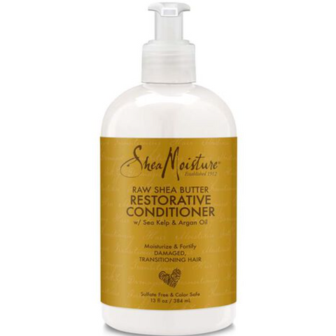 SheaMoisture Raw Shea Butter Moisture Restorative Conditioner - blackhairboutique.co.uk