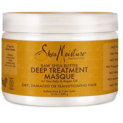 SheaMoisture Raw Shea Butter Deep Treatment Masque - blackhairboutique.co.uk