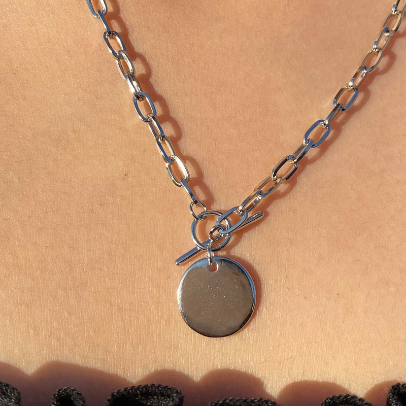 Coin Bar Necklace