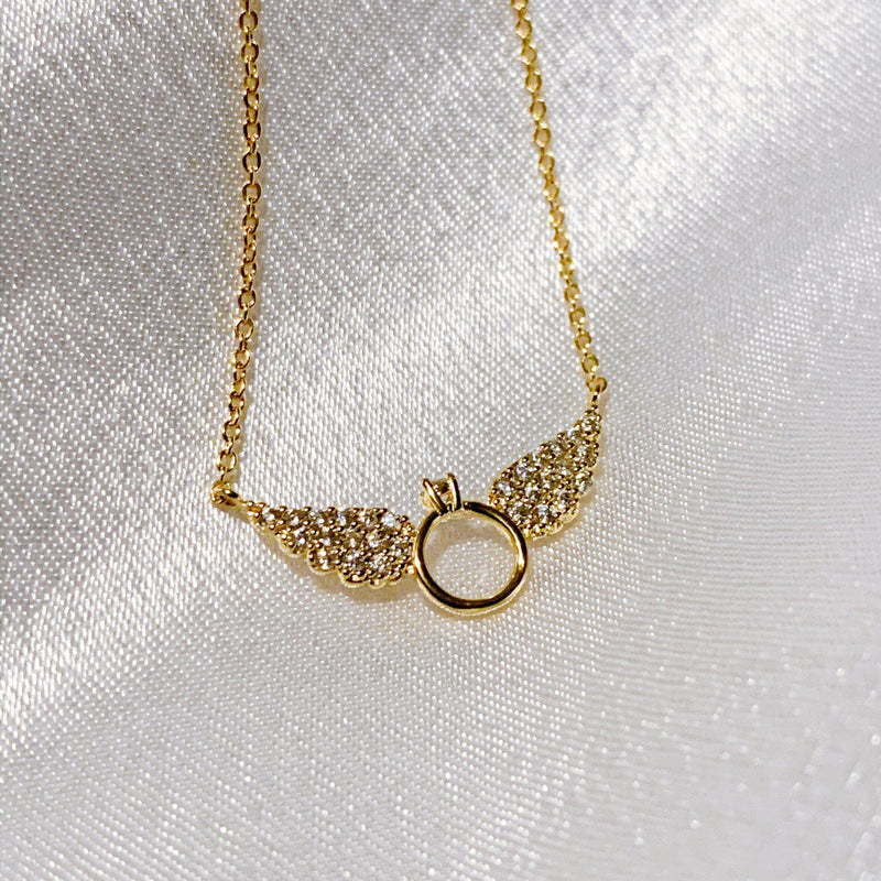 Angel Ring Necklace