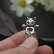 Load image into Gallery viewer, Cute Kitty Ring