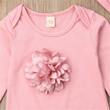 Load image into Gallery viewer, Baby Girls Long Sleeve Bodysuit