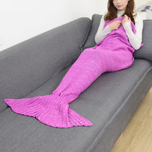 Load image into Gallery viewer, Mermaid Blanket