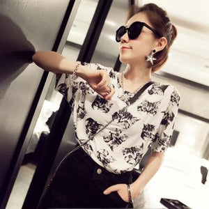 Cats Fashion Blouse