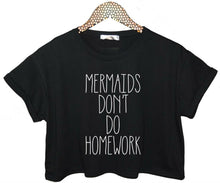 Load image into Gallery viewer, Mermaid Crop Top Short