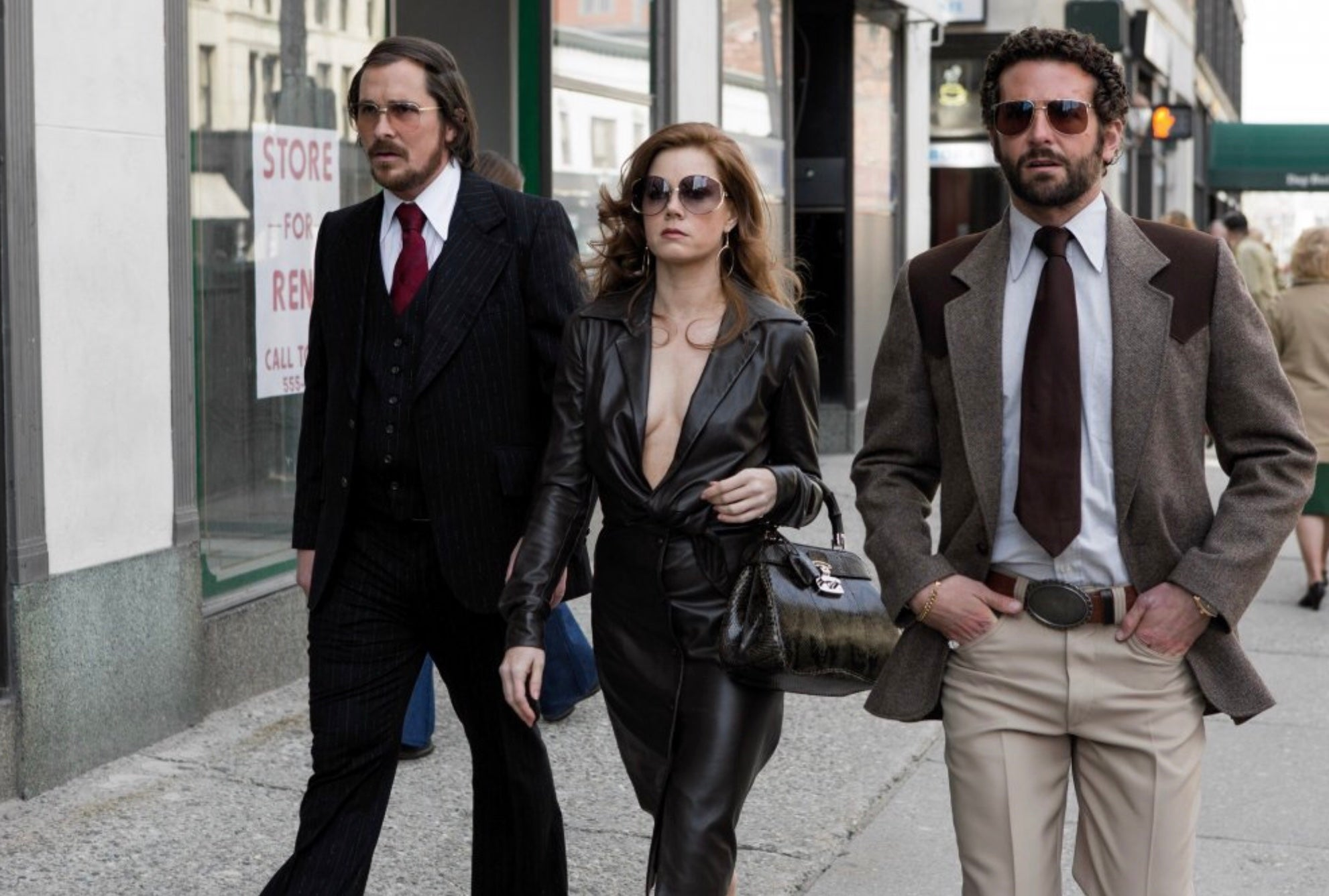 American Hustle (2013) - Irv & Edith's (Christian Bale & Amy Adams) Business Cards