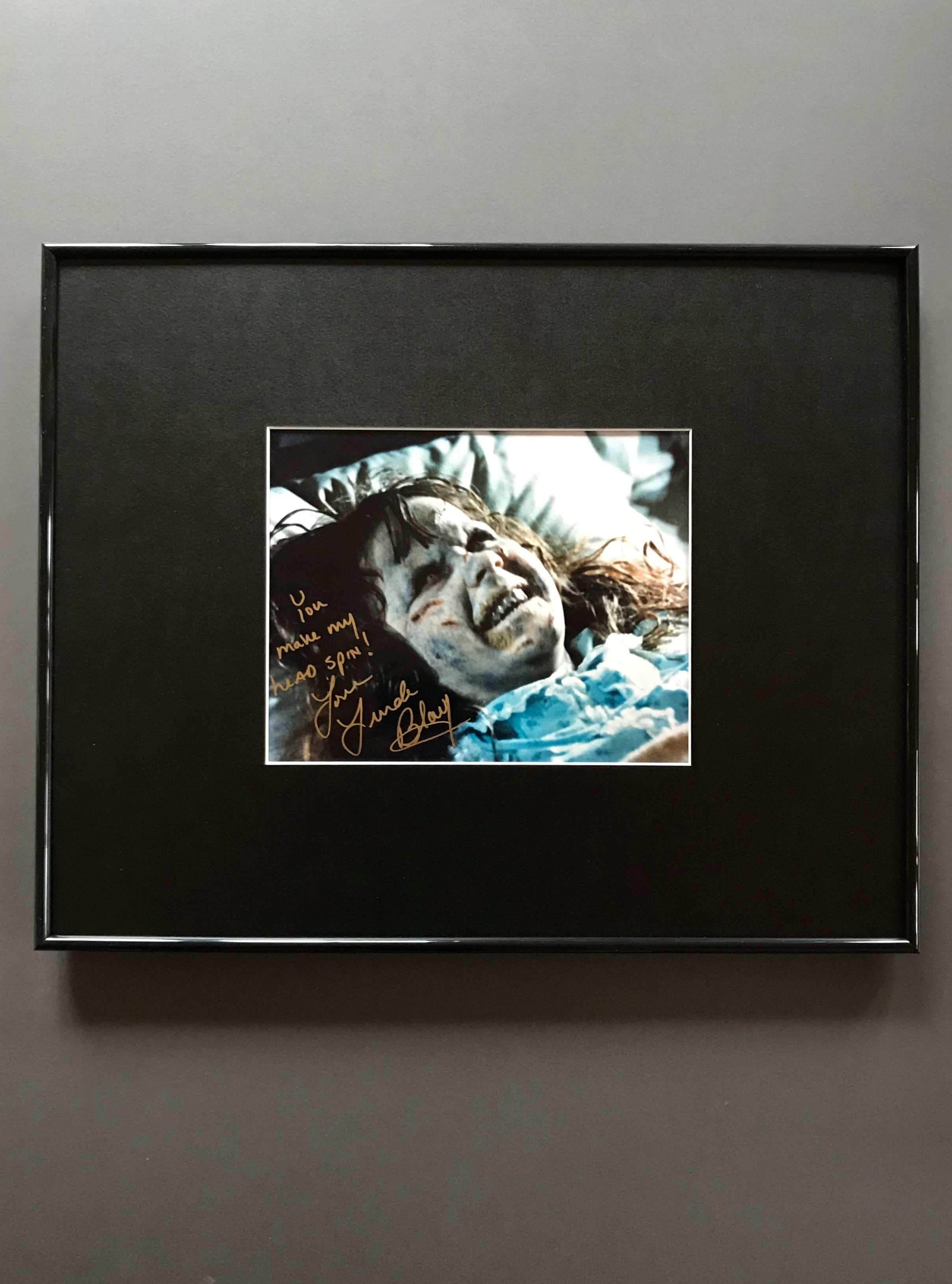 The Exorcist (1973) - A Framed Autographed Still