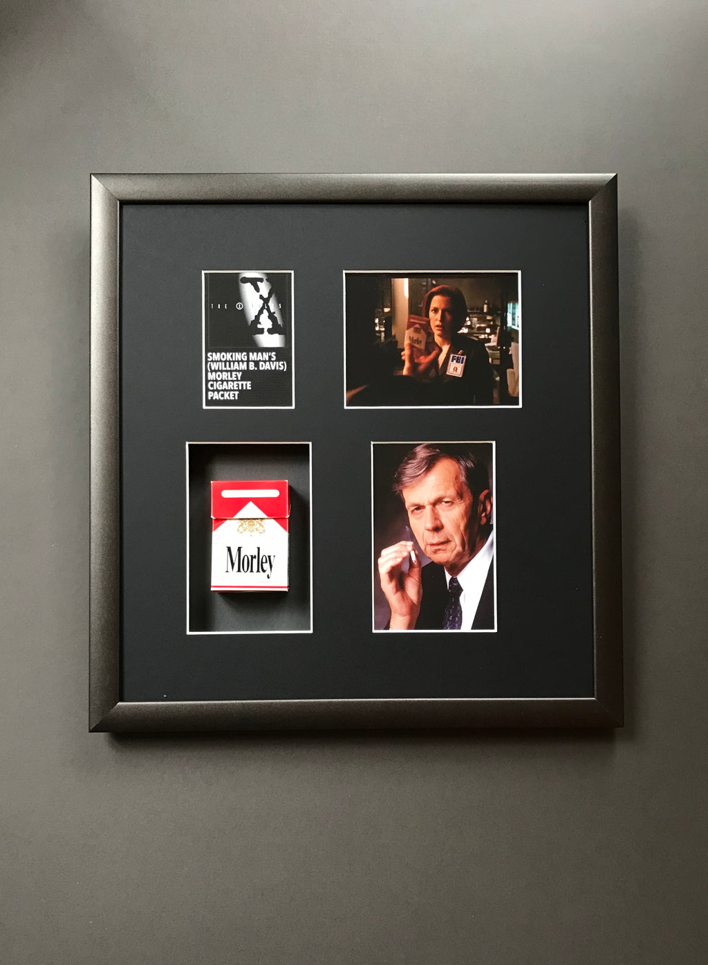 The X-Files - Smoking Man's (William B. Davis) Morley Cigarette Packet (SOLD)