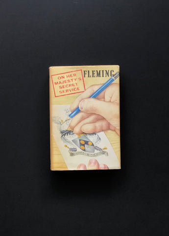 On Her Majesty's Secret Service (1969) - A First Edition Book by Ian Fleming, Signed & inscribed by George Lazenby