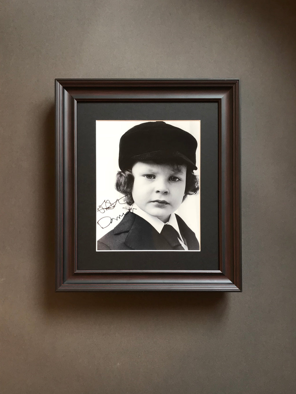 The Omen (1976) - An Autographed Still (SOLD)