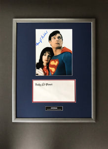 Superman (1978) - A Daily Planet Envelope & Margot Kidder Autograph