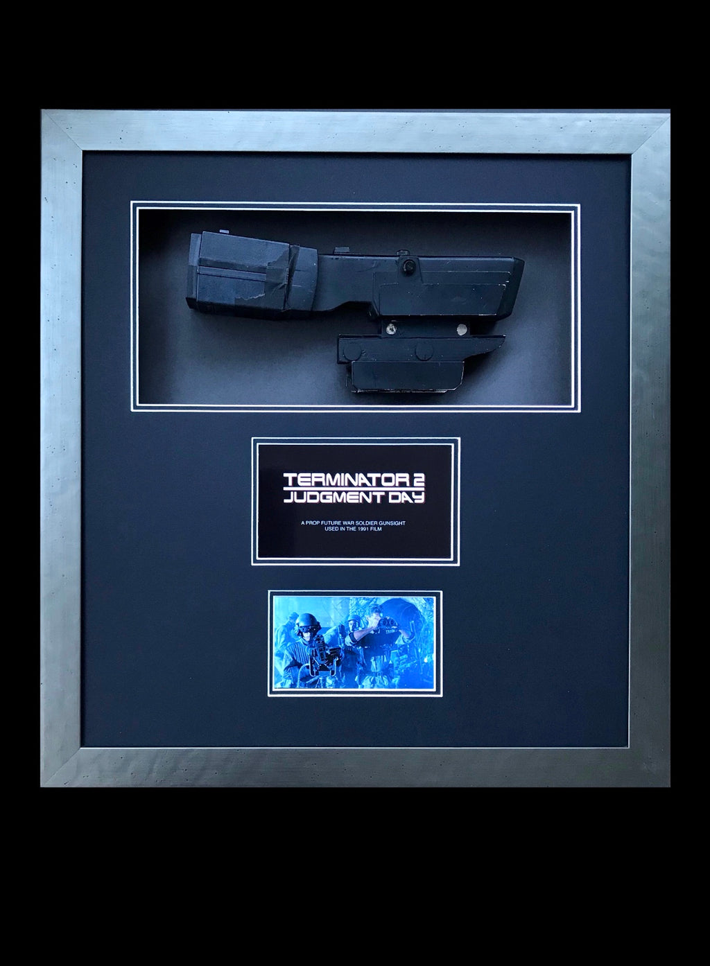 Terminator 2: Judgment Day (1991) - A Future War Soldier Prop Gunsight
