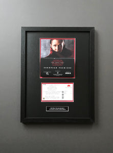 Star Wars: The Last Jedi (2017) - Framed Premiere Ticket & Sleeve