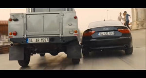 Skyfall (2012) - Patrice's Audi A5 Licence Plate