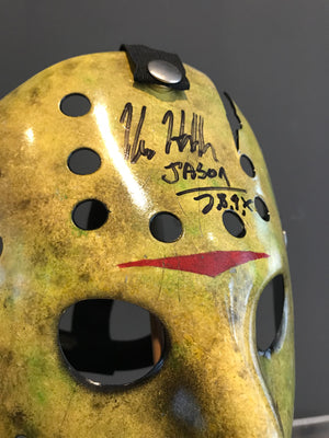 Friday 13th Part VIII: Jason Takes Manhattan (1989) - A Replica Hockey Mask Autographed by Kane Hodder