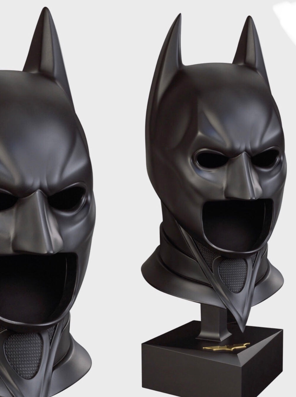 The Dark Knight (2008) - A Replica Bat Cowl based on the Original Studio Moulds