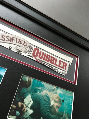 Harry Potter & The Deathly Hallows: Part I (2010) - An Original Piece of 'Quibbler' Magazine used in the Film