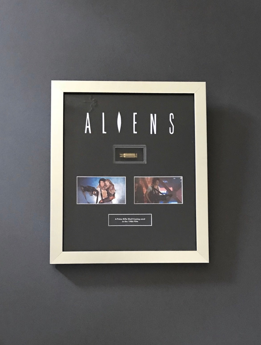 Aliens (1986) - A Pulse Rifle Shell Casing used in the Film - SOLD
