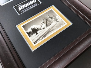 The Shining (1980) - A Framed Cast Autograph & Timberline Lodge Postcard (SOLD)