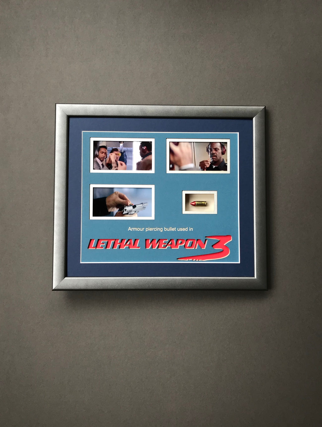 Lethal Weapon 3 (1992) - A Framed Armour Piercing Bullet