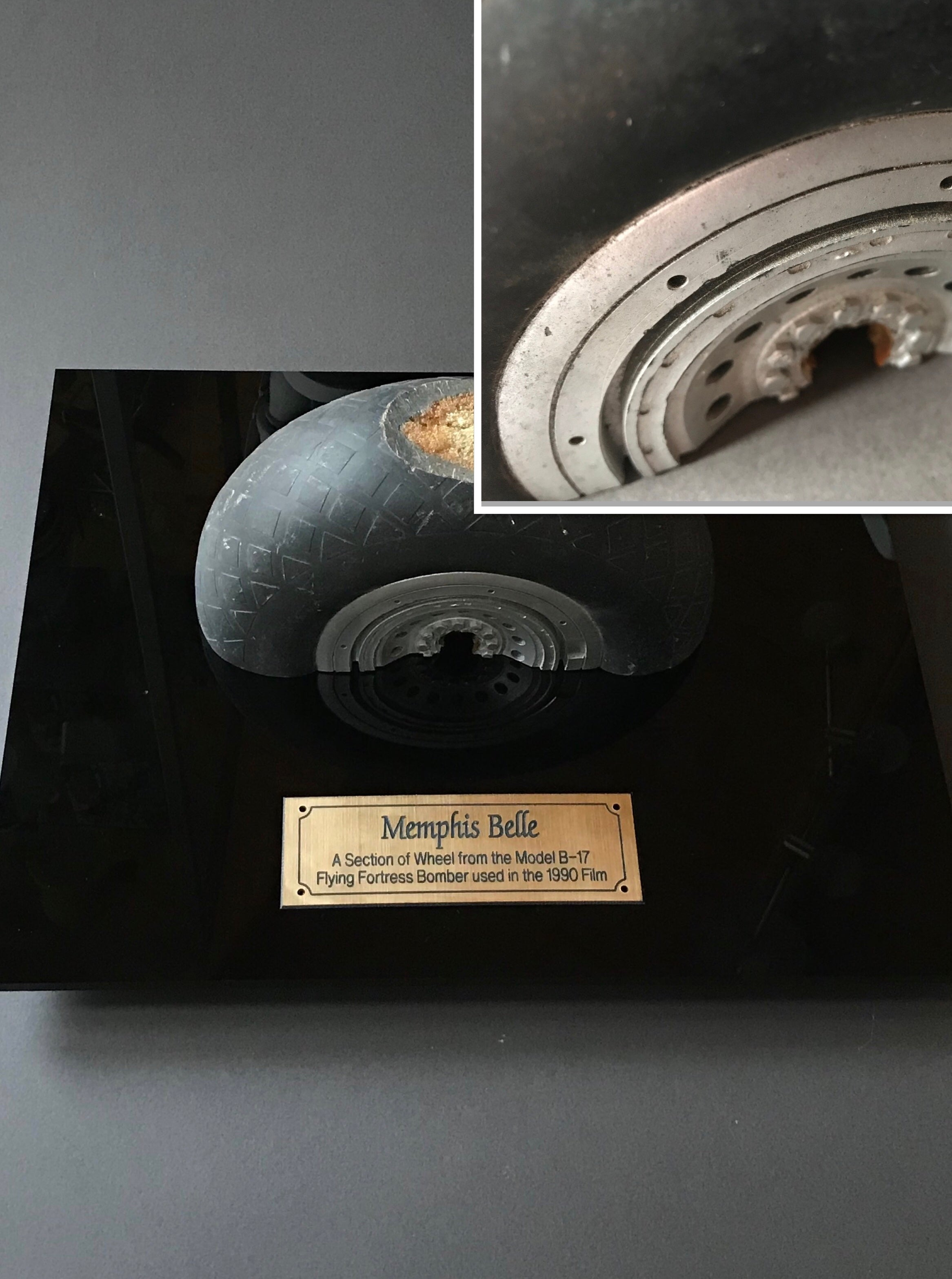 Memphis Belle (1990) - A Model B-17 Wheel Section