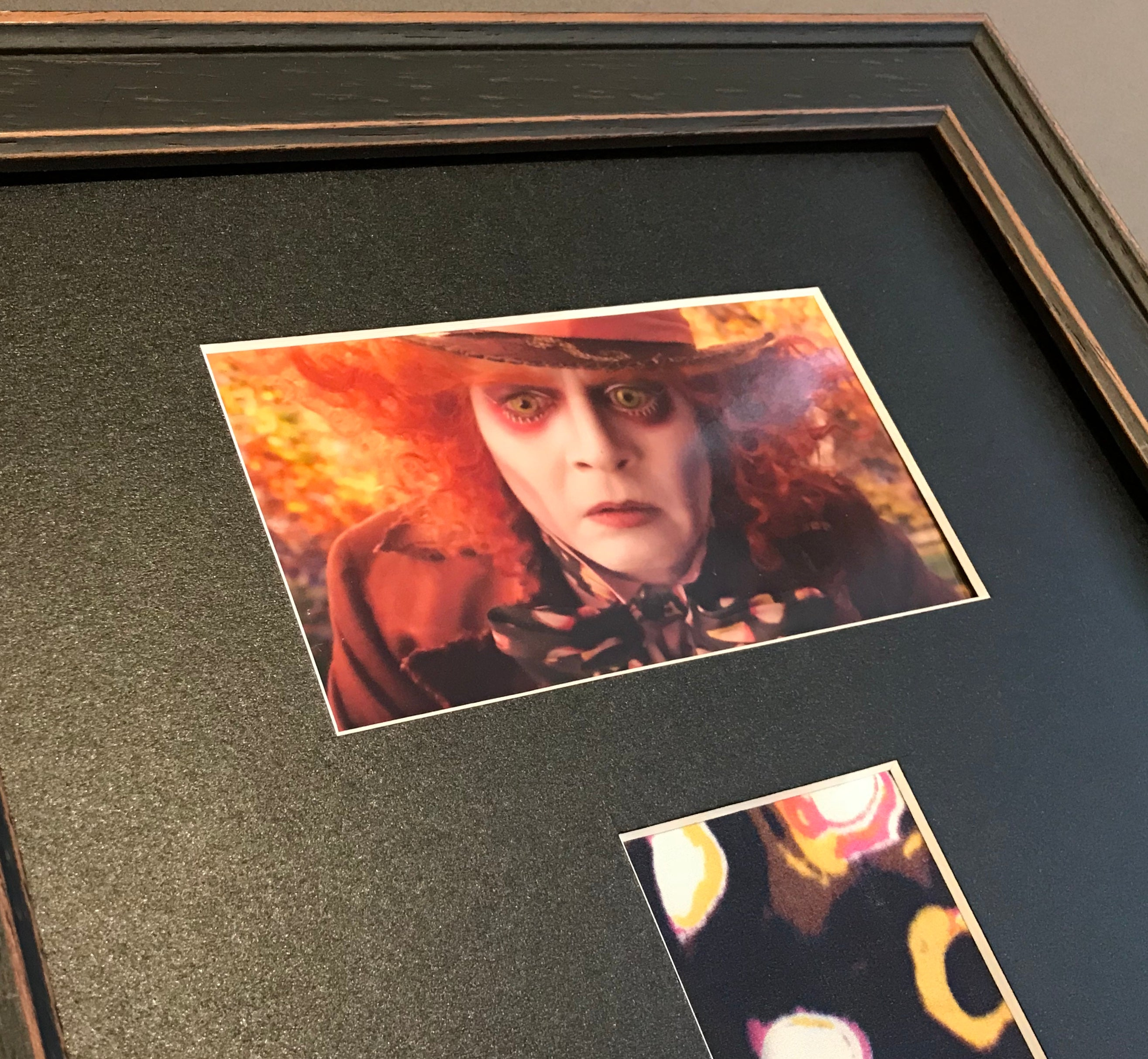 Alice through the Looking Glass (2016) - A Framed Mad Hatter (Johnny Depp) Costume Swatch