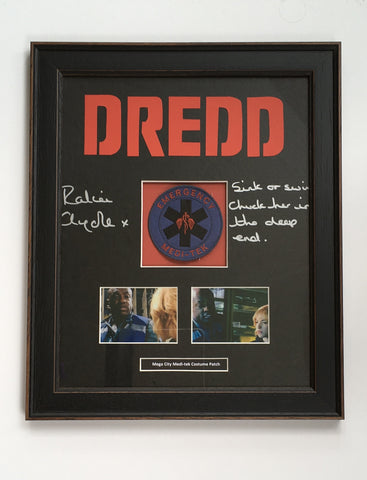 Dredd (2012) - Mega City Medi-Tek Costume Patch