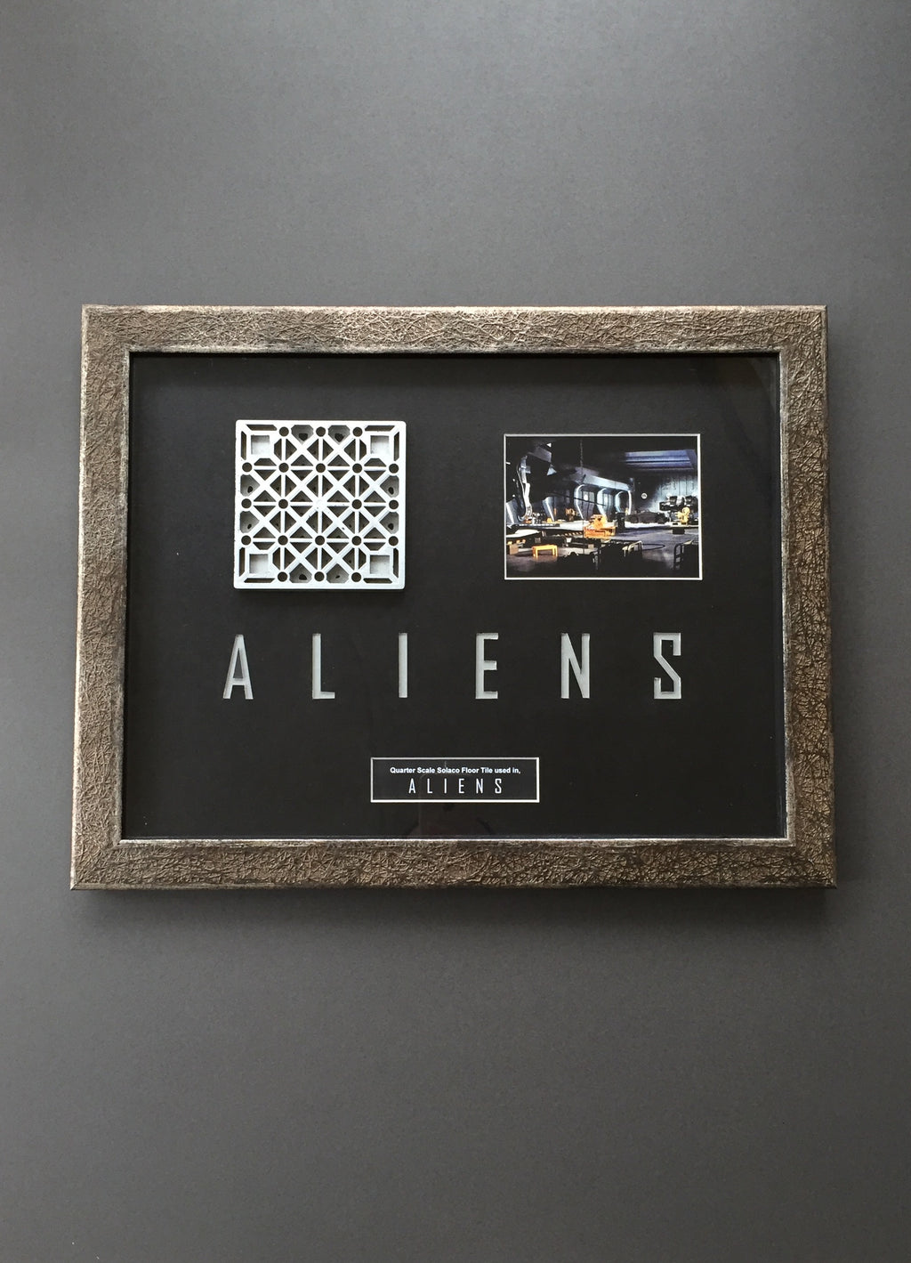 Aliens (1986) - Solaco Quarter Scale Floor Tile (SOLD)