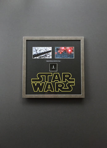 Star Wars: Return of the Jedi (1983) - Framed High Altitude Death Star Tower - SOLD