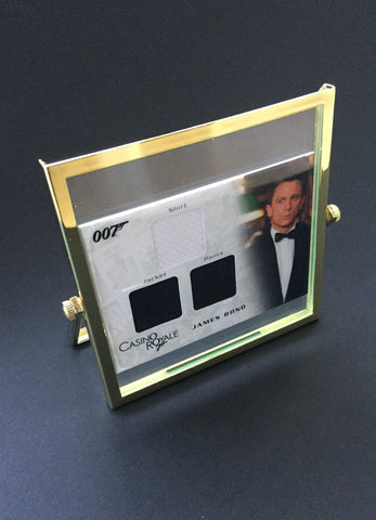 Casino Royale (2006) - Framed Daniel Craig Authentic Costume Swatches