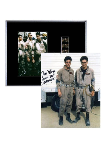 Ghostbusters (1984) - Film Cell Display & Stuntman Autograph