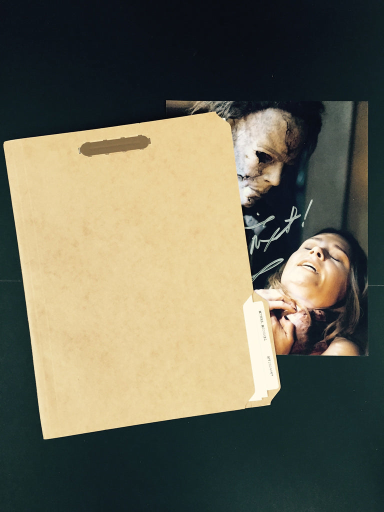 Halloween (2007) - Michael Myers Medical File (SOLD)