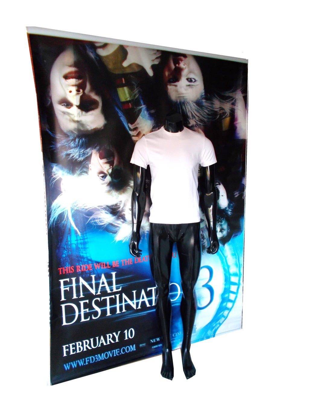 Final Destination 3 (2006) - Kevin's Shirt & Cinema Banner