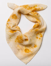 Load image into Gallery viewer, Botanically dyed silk scarf
