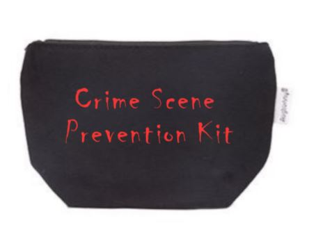 Crime Scene Prevention Kit Tampon Pouch