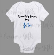 Load image into Gallery viewer, Mom's Only Paying for Zeta | Zeta Phi Beta Inspired Baby Body Suit